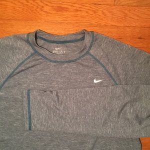 Nike Long Sleeved Dri-Fit Shirt